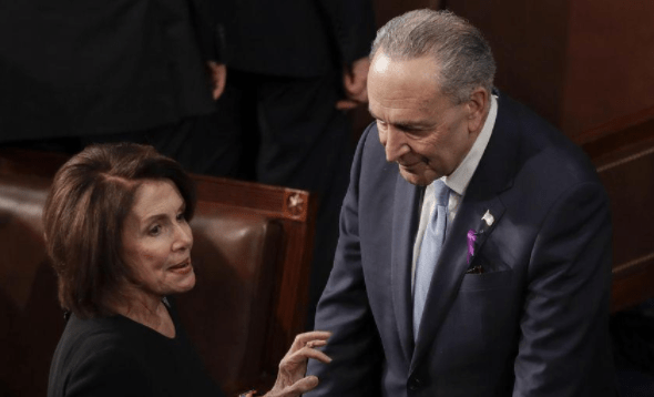 "Pelosi to Schumer: ""Don't Worry, I Put Glue on their Seats."""